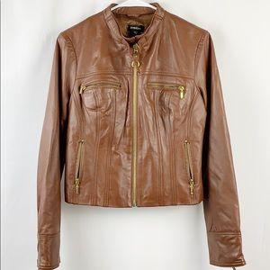 {BEBE} Leather Moto Jacket